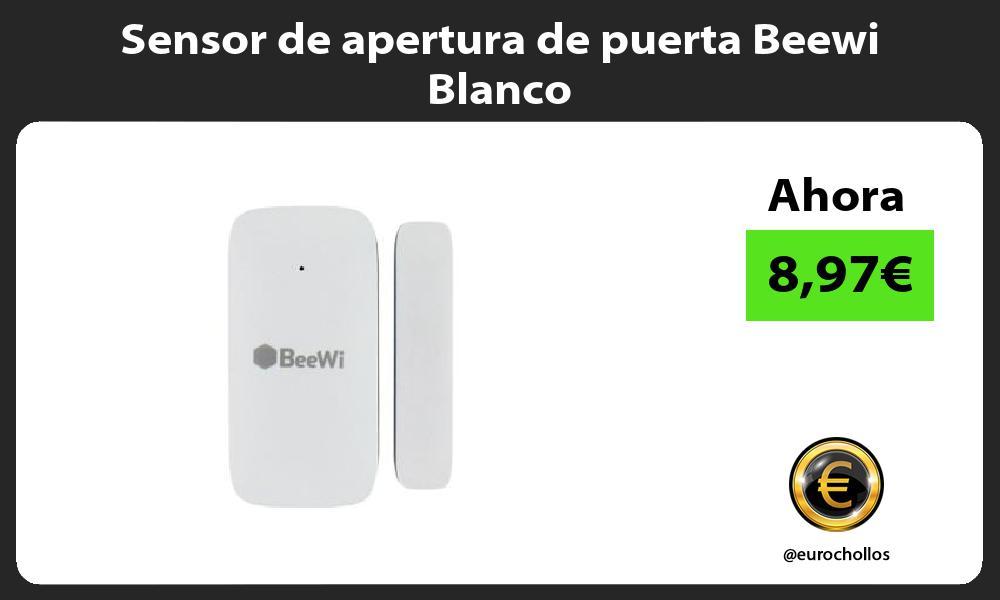Sensor de apertura de puerta Beewi Blanco