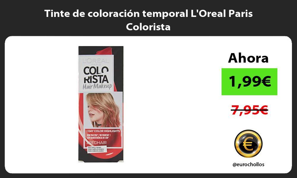 Tinte de coloración temporal LOreal Paris Colorista