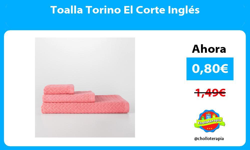 Toalla Torino El Corte Inglés