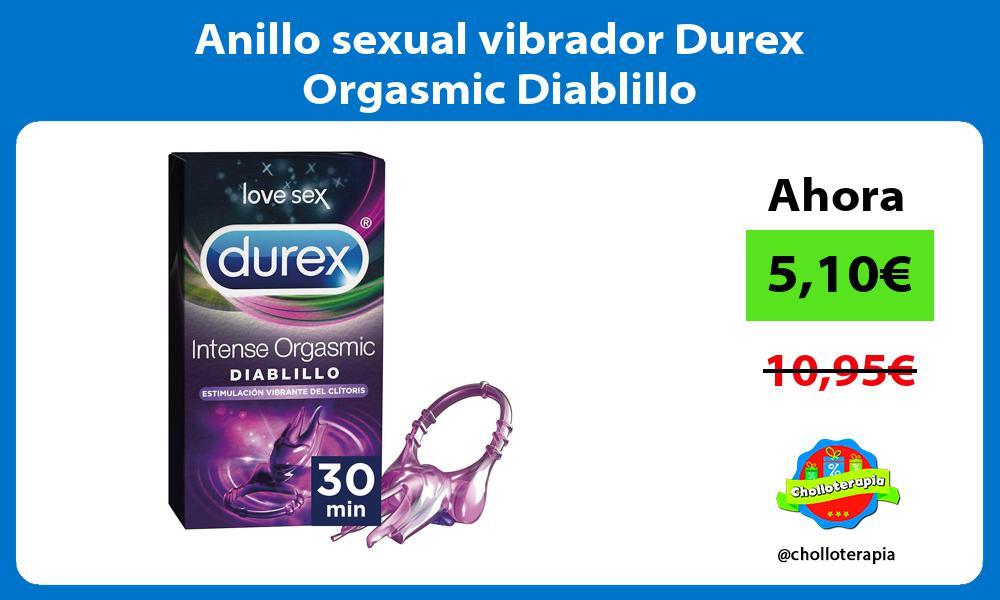 Anillo sexual vibrador Durex Orgasmic Diablillo