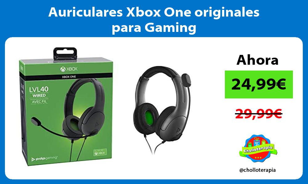 Auriculares Xbox One originales para Gaming