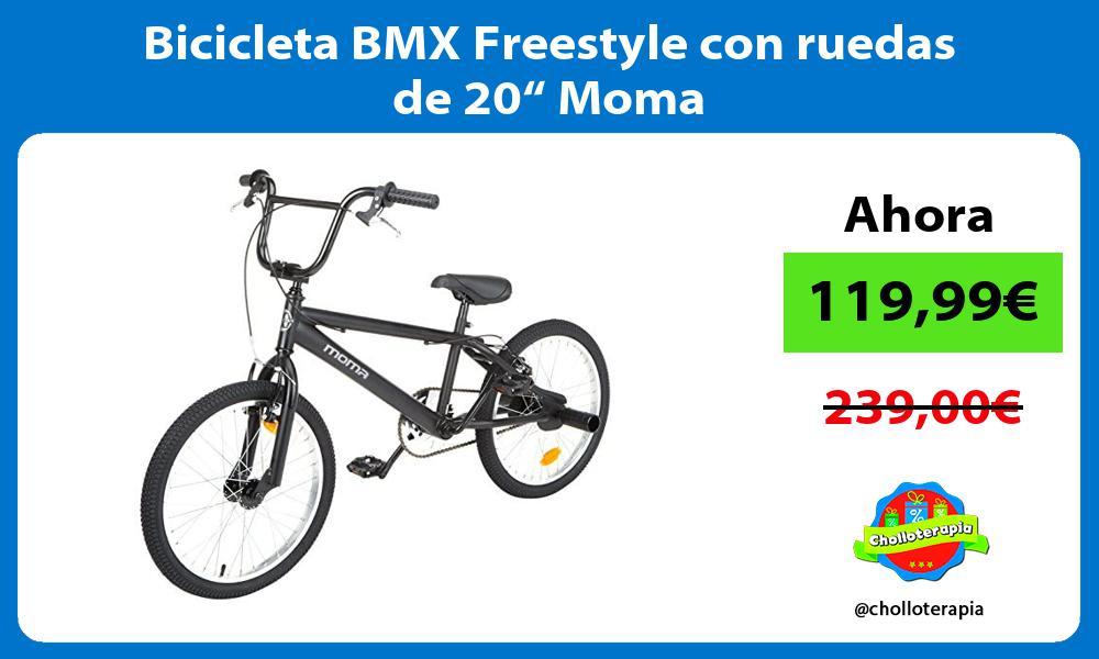 """Bicicleta BMX Freestyle con ruedas de 20"""" Moma"""