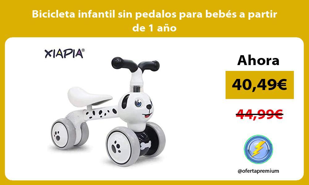 Bicicleta infantil sin pedalos para bebés a partir de 1 año