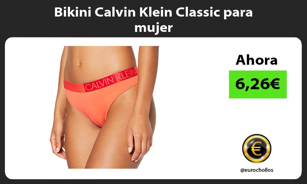 Bikini Calvin Klein Classic para mujer
