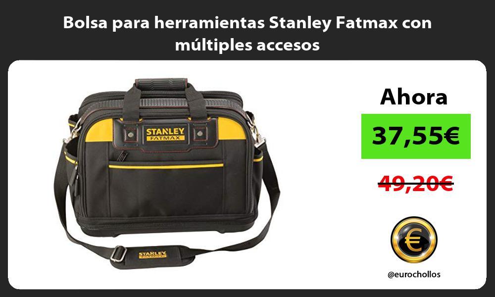 Bolsa para herramientas Stanley Fatmax con múltiples accesos