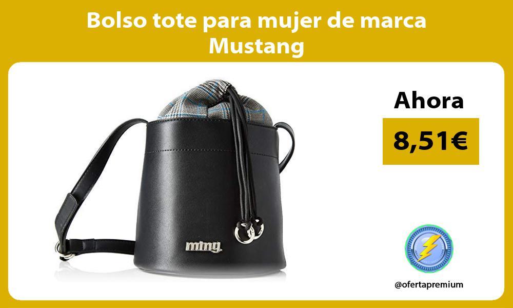 Bolso tote para mujer de marca Mustang