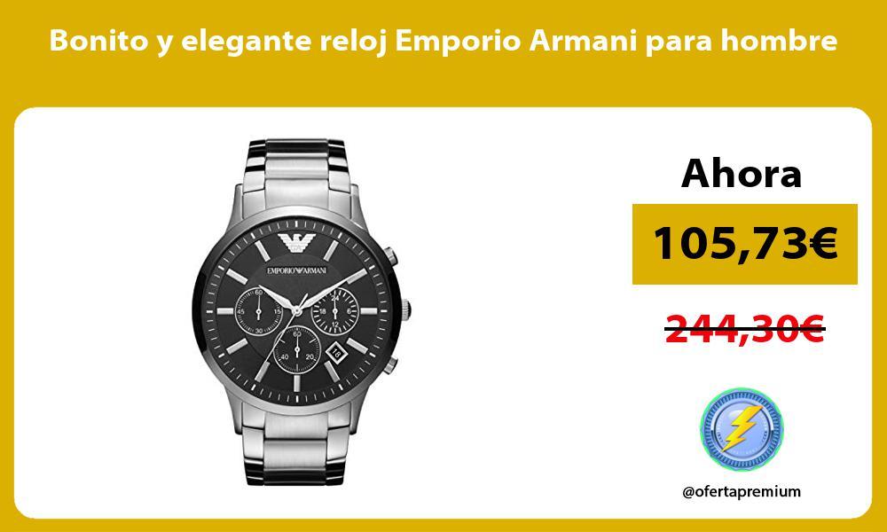 Bonito y elegante reloj Emporio Armani para hombre