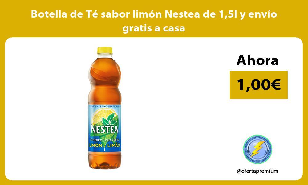 Botella de Té sabor limón Nestea de 15l y envío gratis a casa
