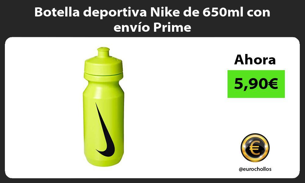 Botella deportiva Nike de 650ml con envío Prime