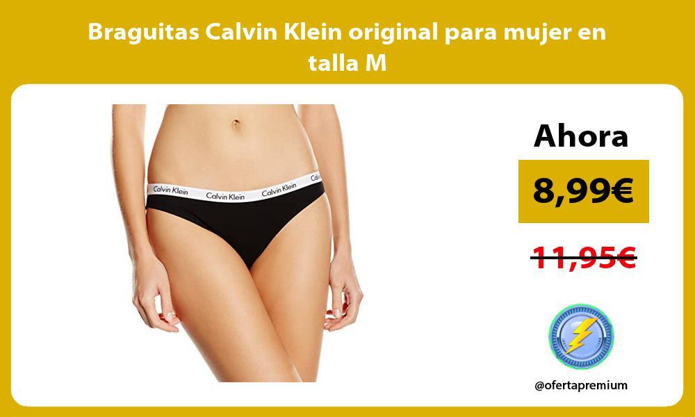 Braguitas Calvin Klein original para mujer en talla M