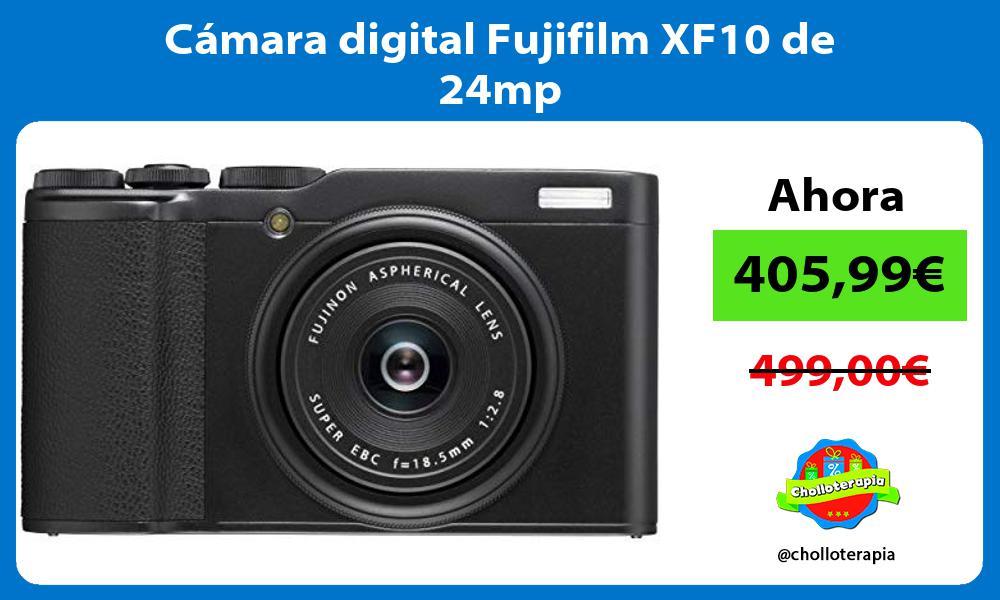 Cámara digital Fujifilm XF10 de 24mp