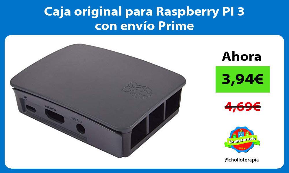 Caja original para Raspberry PI 3 con envío Prime