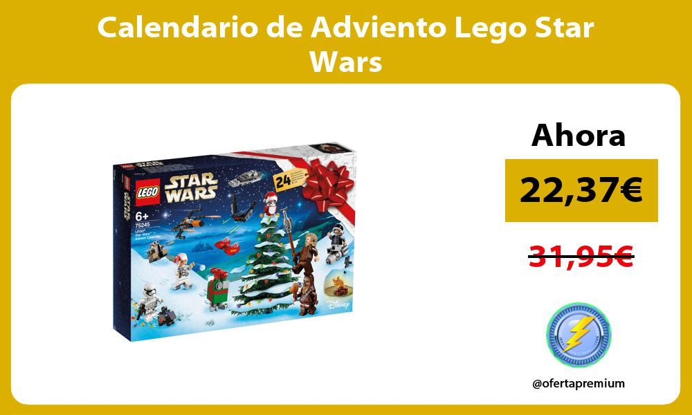 Calendario de Adviento Lego Star Wars
