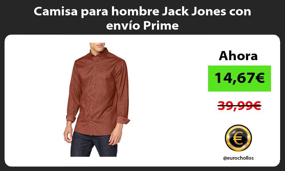 Camisa para hombre Jack Jones con envío Prime