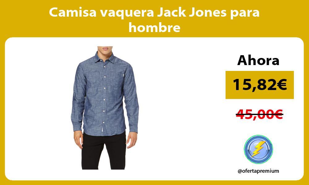 Camisa vaquera Jack Jones para hombre