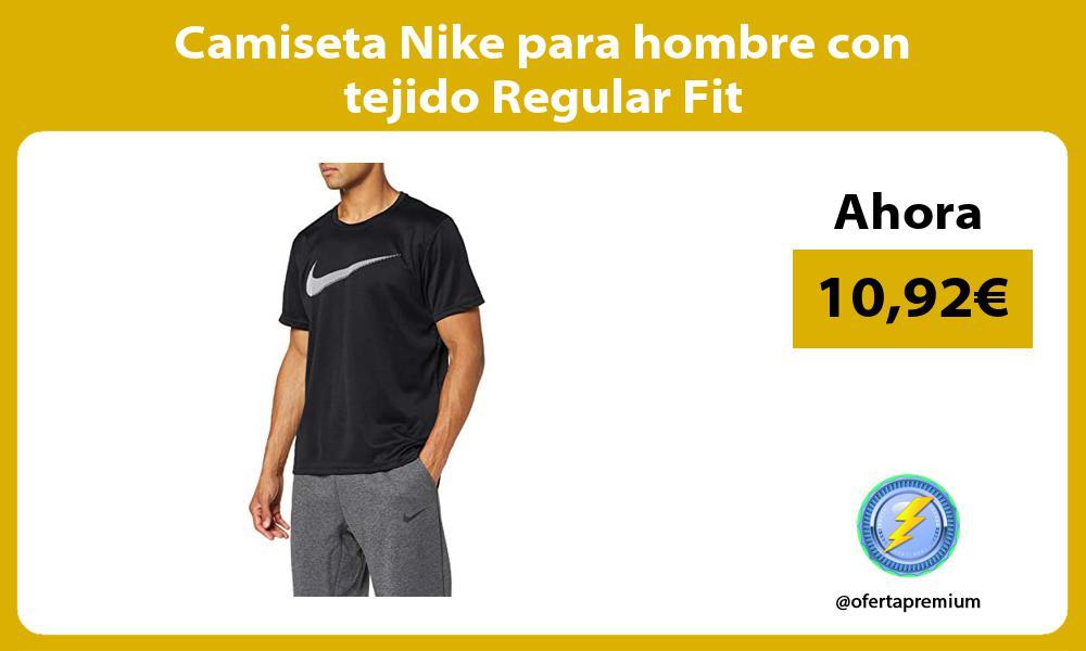 Camiseta Nike para hombre con tejido Regular Fit