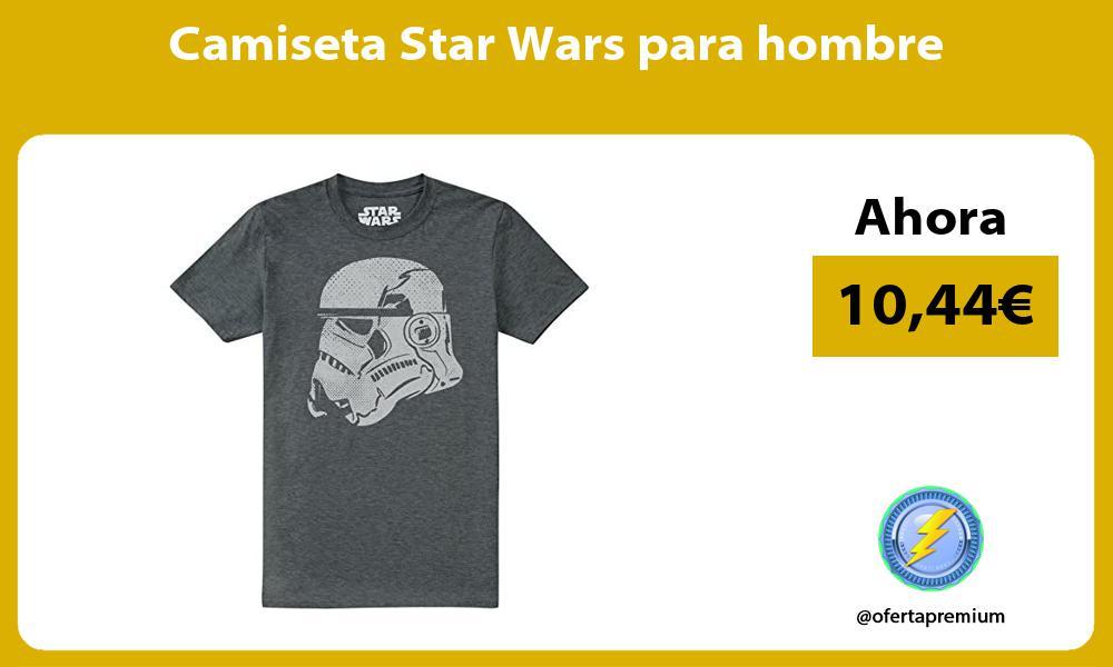 Camiseta Star Wars para hombre