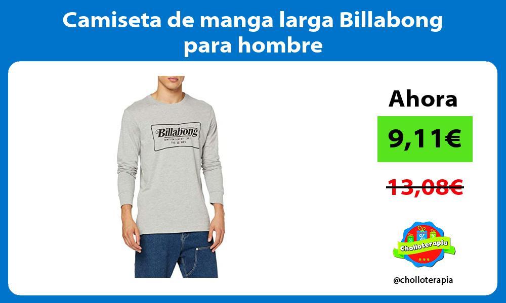 Camiseta de manga larga Billabong para hombre