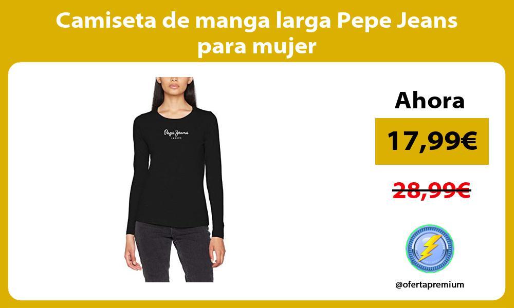 Camiseta de manga larga Pepe Jeans para mujer
