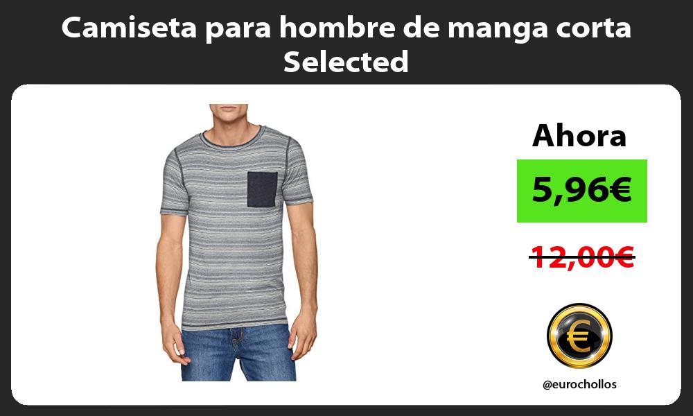 Camiseta para hombre de manga corta Selected