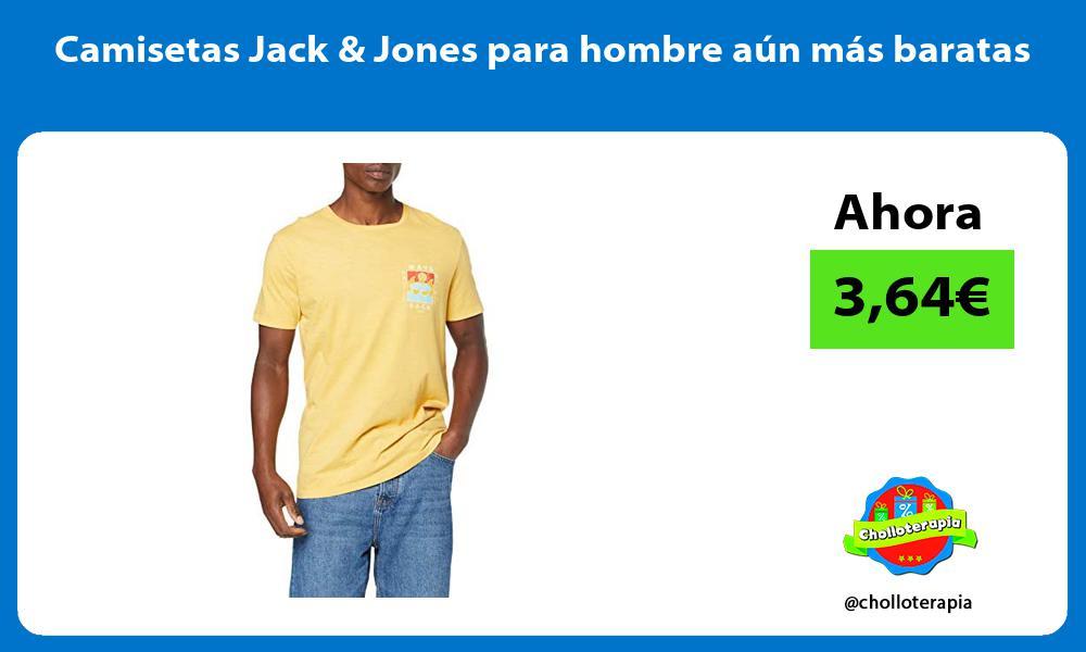 Camisetas Jack Jones para hombre aún más baratas