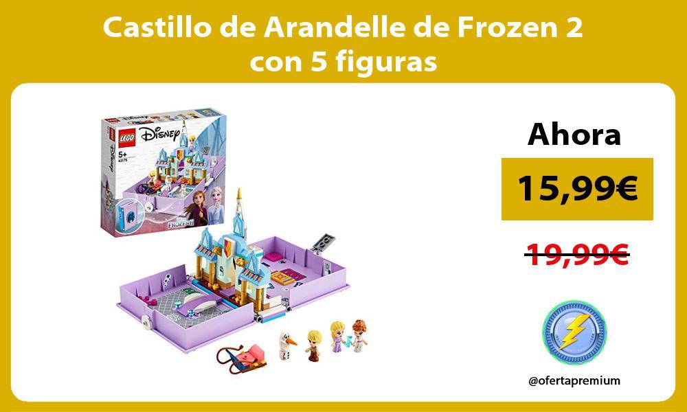 Castillo de Arandelle de Frozen 2 con 5 figuras