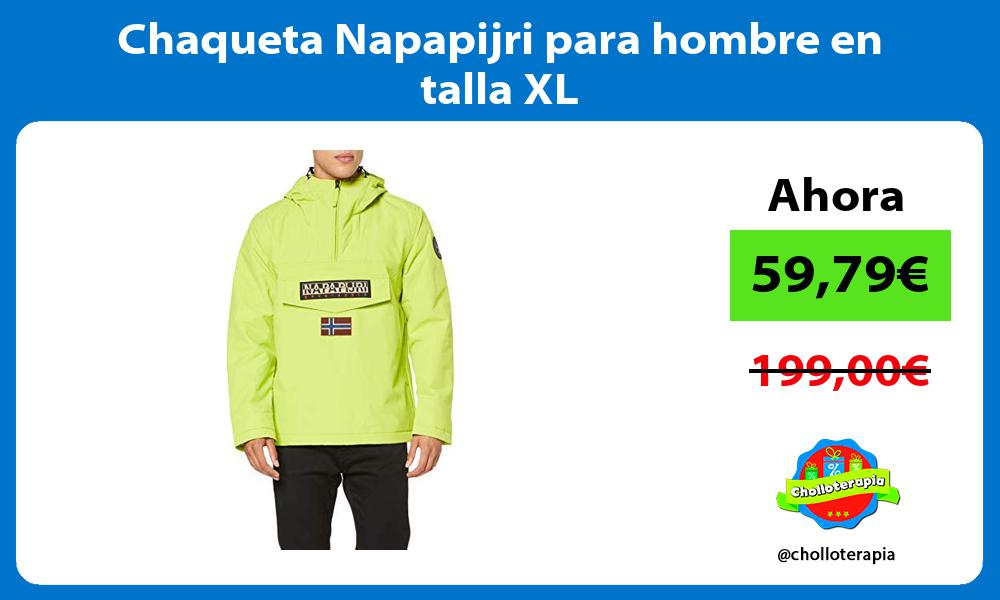 Chaqueta Napapijri para hombre en talla XL