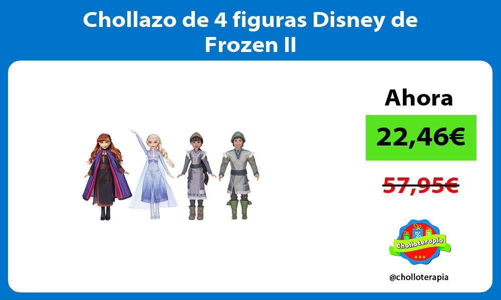Chollazo de 4 figuras Disney de Frozen II