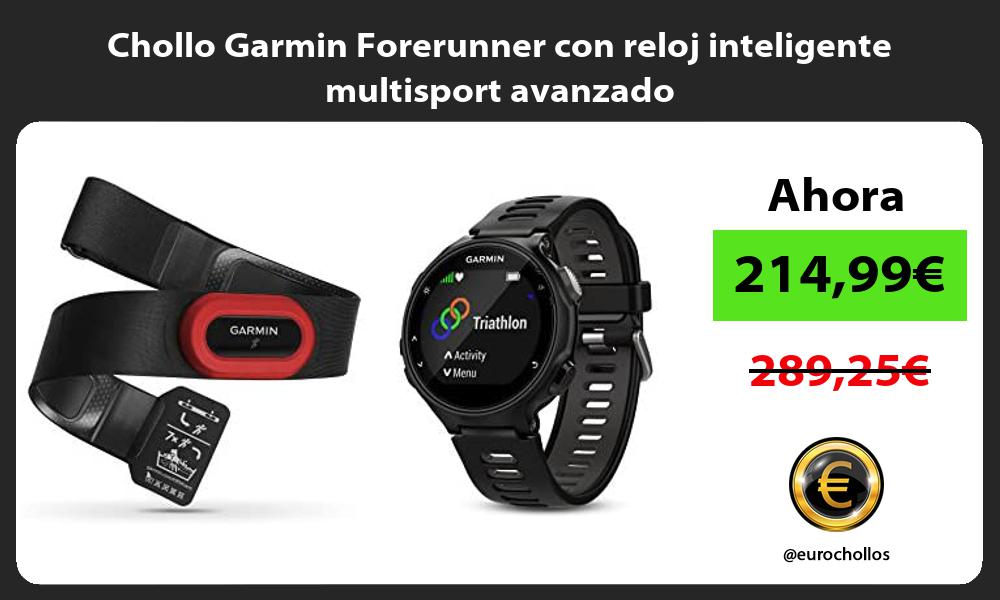 Chollo Garmin Forerunner con reloj inteligente multisport avanzado
