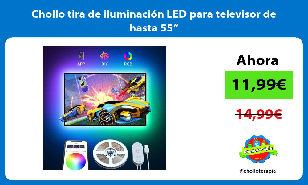 """Chollo tira de iluminación LED para televisor de hasta 55"""""""