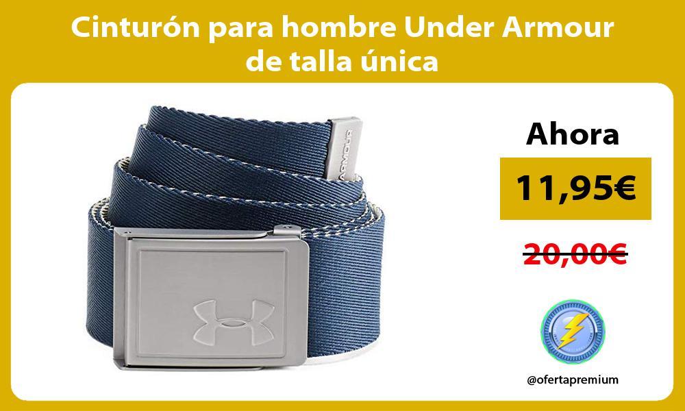 Cinturón para hombre Under Armour de talla única