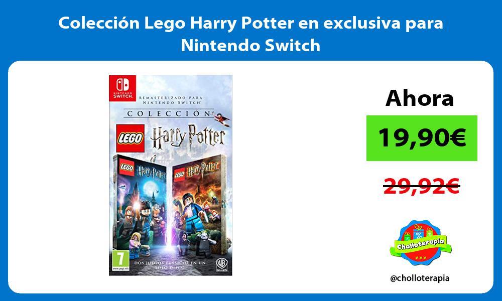 Colección Lego Harry Potter en exclusiva para Nintendo Switch