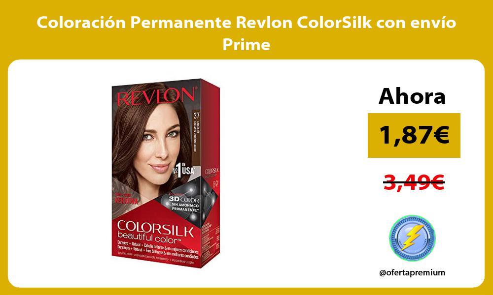 Coloración Permanente Revlon ColorSilk con envío Prime
