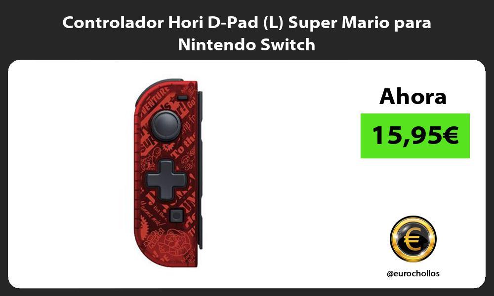Controlador Hori D Pad L Super Mario para Nintendo Switch