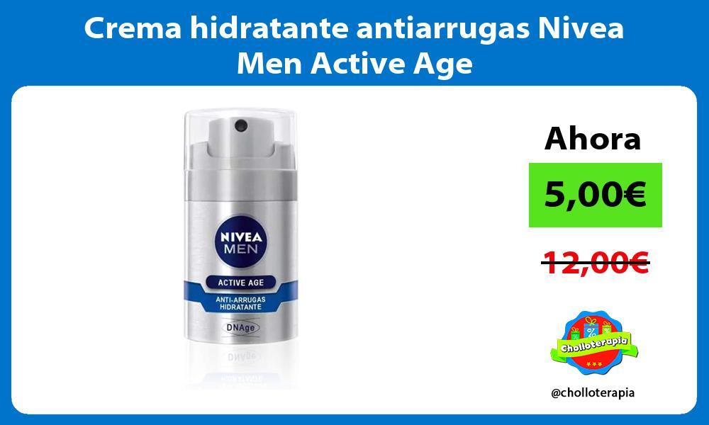 Crema hidratante antiarrugas Nivea Men Active Age
