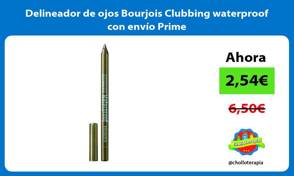 Delineador de ojos Bourjois Clubbing waterproof con envío Prime