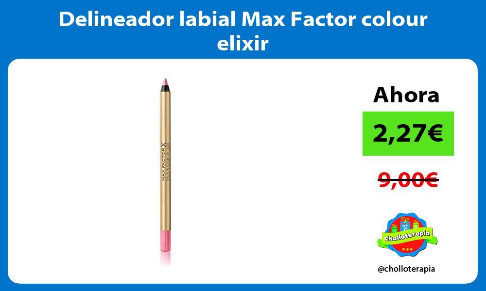 Delineador labial Max Factor colour elixir
