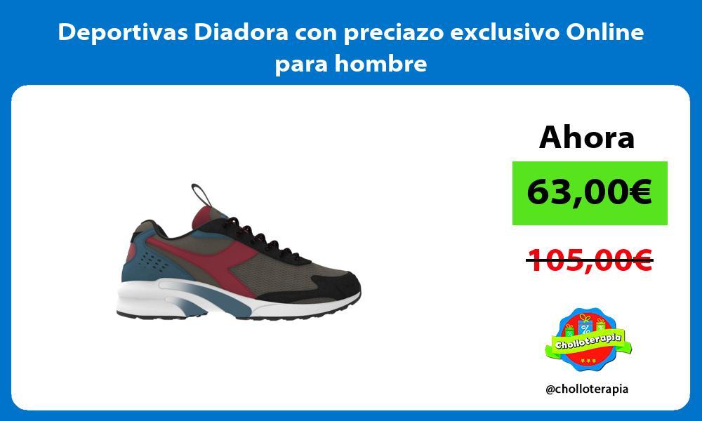 Deportivas Diadora con preciazo exclusivo Online para hombre