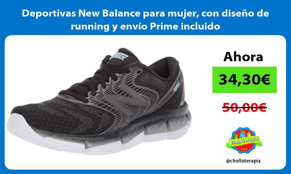 Deportivas New Balance para mujer con diseño de running y envío Prime incluido