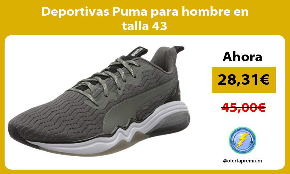 Deportivas Puma para hombre en talla 43