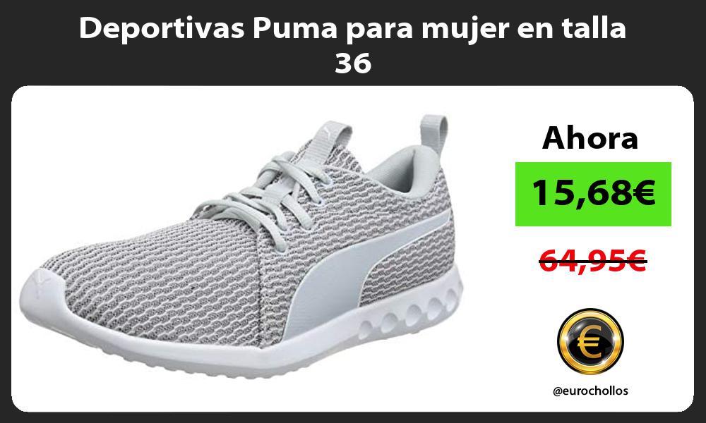 Deportivas Puma para mujer en talla 36
