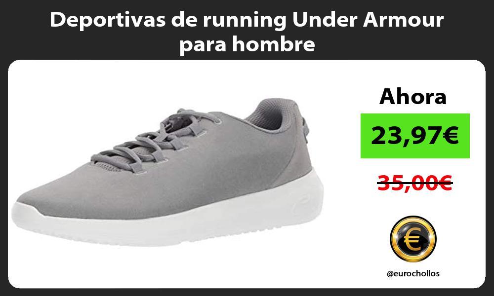 Deportivas de running Under Armour para hombre