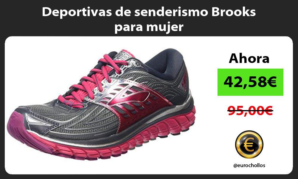 Deportivas de senderismo Brooks para mujer
