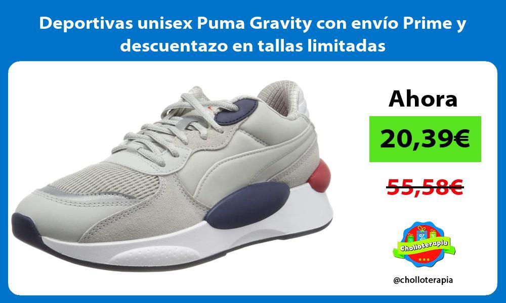 Deportivas unisex Puma Gravity con envío Prime y descuentazo en tallas limitadas