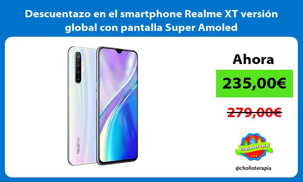 Descuentazo en el smartphone Realme XT versión global con pantalla Super Amoled