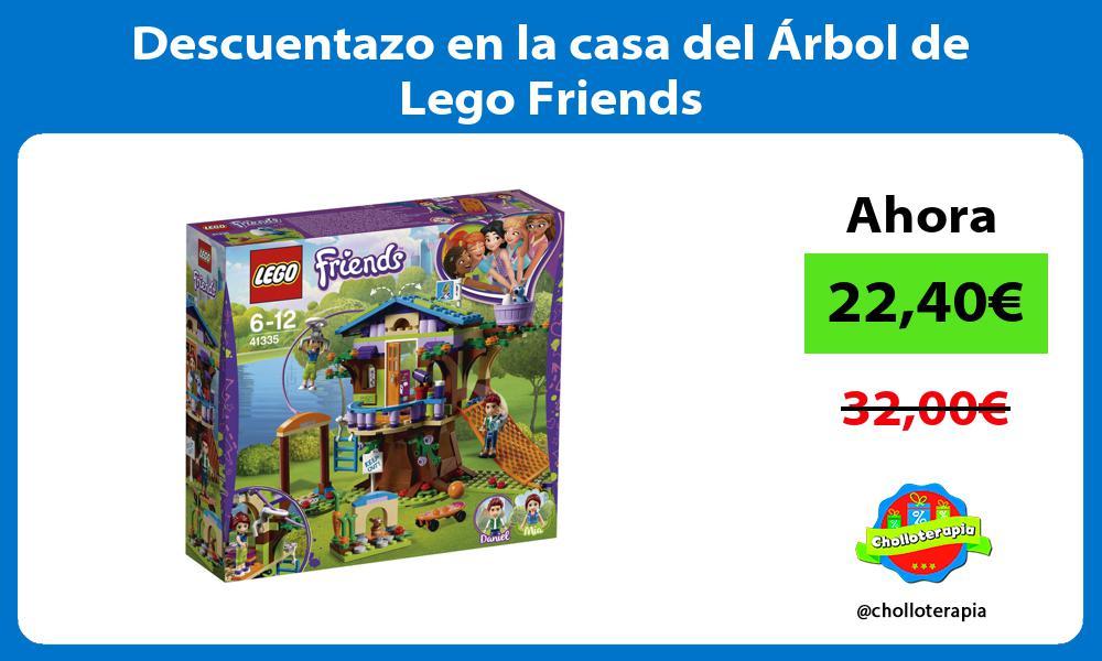 Descuentazo en la casa del Árbol de Lego Friends