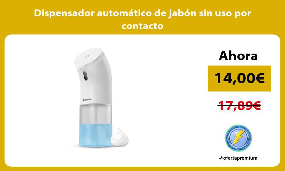 Dispensador automático de jabón sin uso por contacto