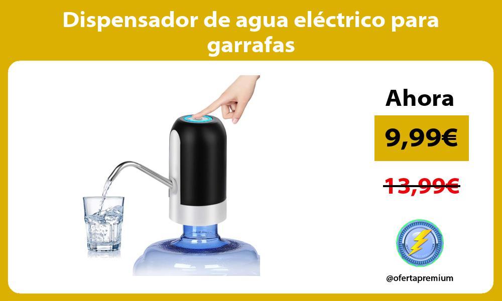 Dispensador de agua eléctrico para garrafas