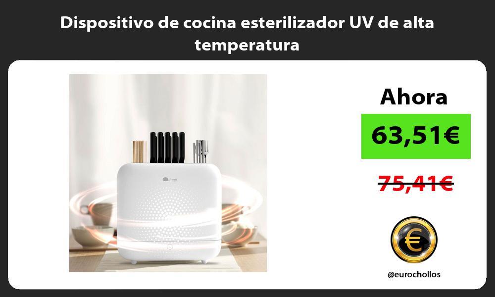 Dispositivo de cocina esterilizador UV de alta temperatura