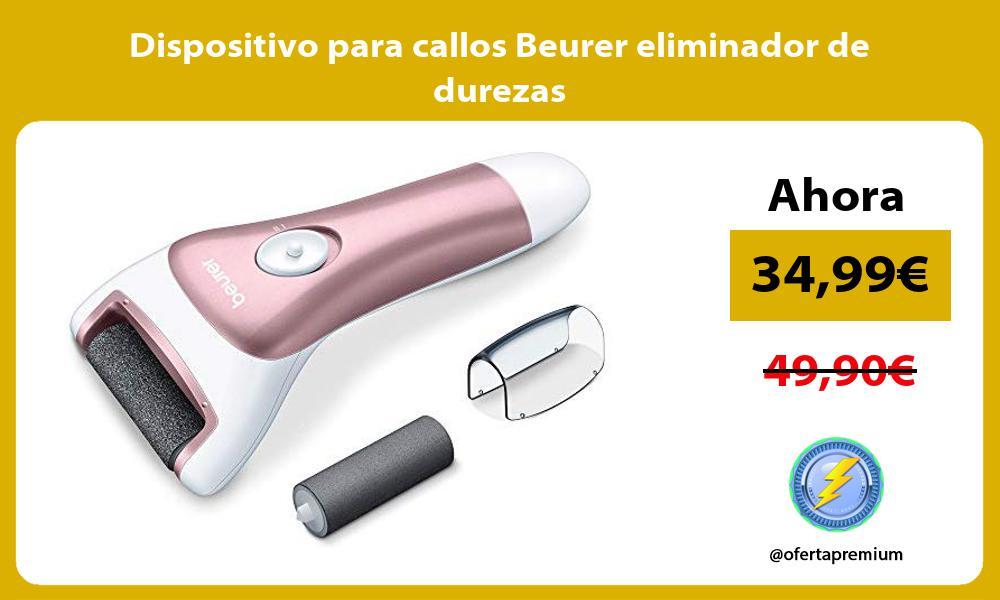 Dispositivo para callos Beurer eliminador de durezas